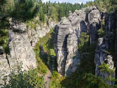 Formacje skalne w Czeskim Raju