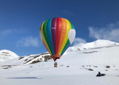 Nasz balon 4500m3 na wyprawie na Spitzbegenie 2