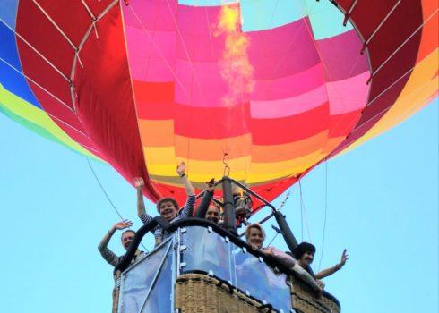 Jedyny balon w Polsce z przeszklonym koszemJPG